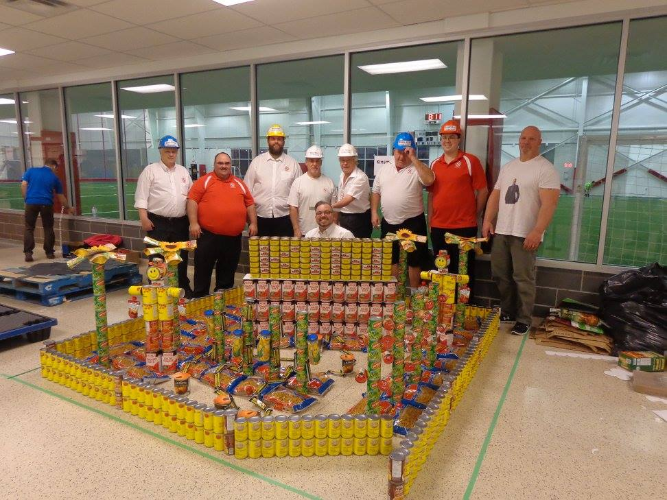 KCC Canstruction 2016